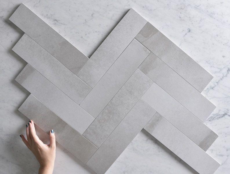 Annandale Concrete Look Subway Tile Tile Cloud