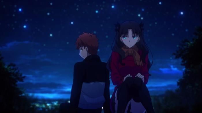 Image result for Rin and Shirou rock