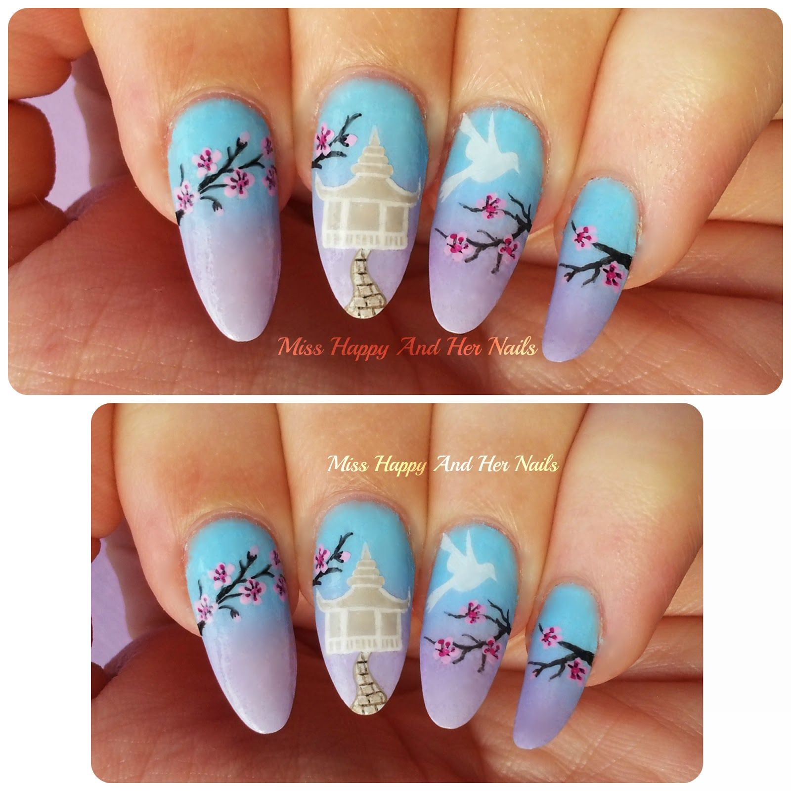 Spring in Japan nail art | Captain Literally\'s home for manicures ...