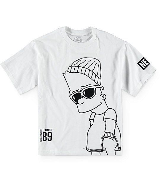 Neff x The Simpsons Boys Big Steeze T-Shirt