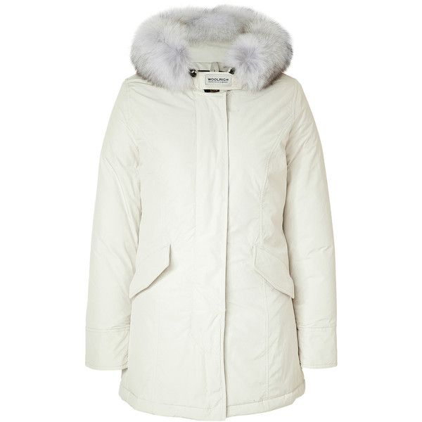 separation shoes bb43b 393ab Woolrich - Fox Fur-Trimmed Women's Arctic Parka (3.250 RON ...