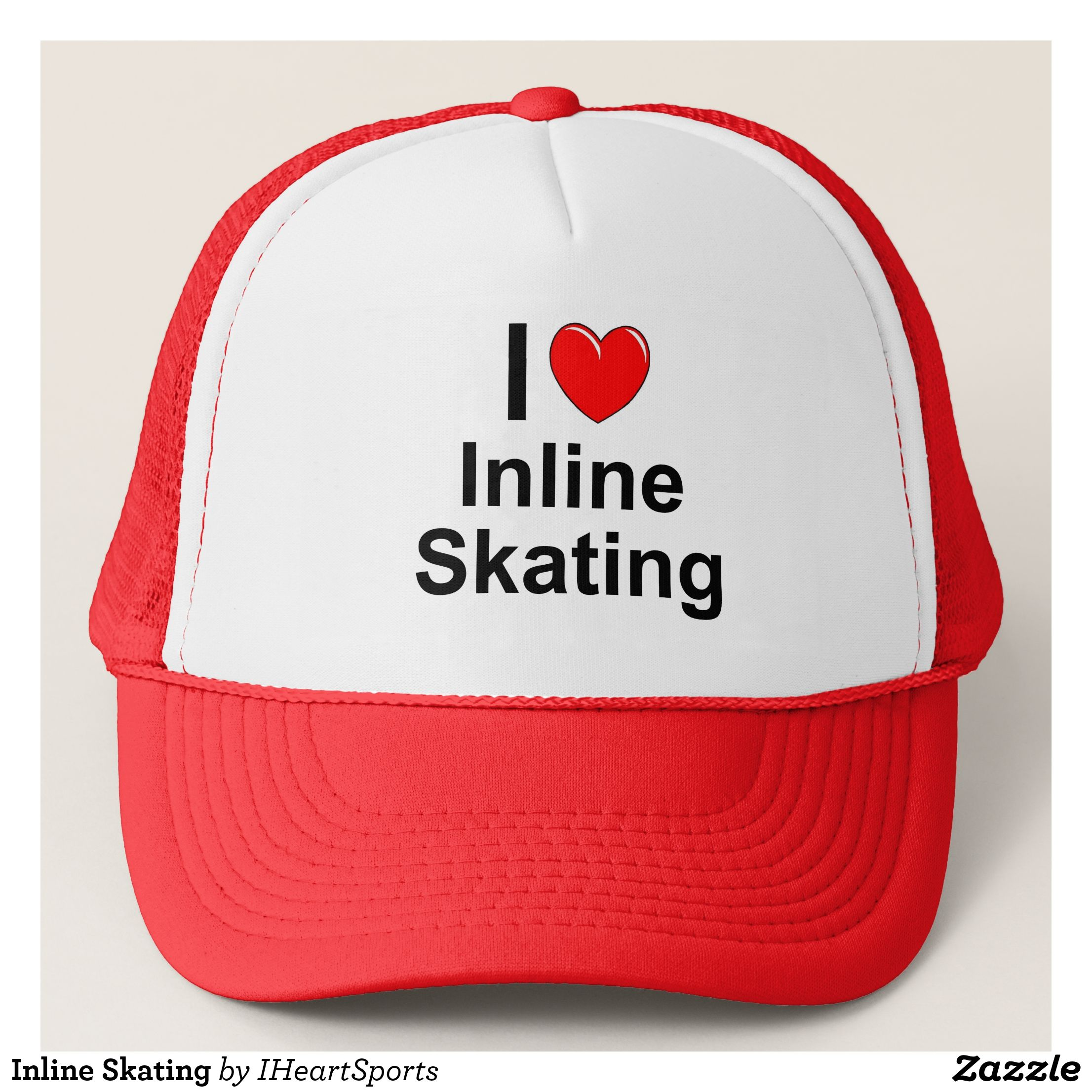 082ebe34326 Inline Skating Trucker Hat - Fashionable Urban And Outdoor Hunter Farmer Trucker  Hats By Creative Talented Graphic Designers -  hats  truckerhats  …