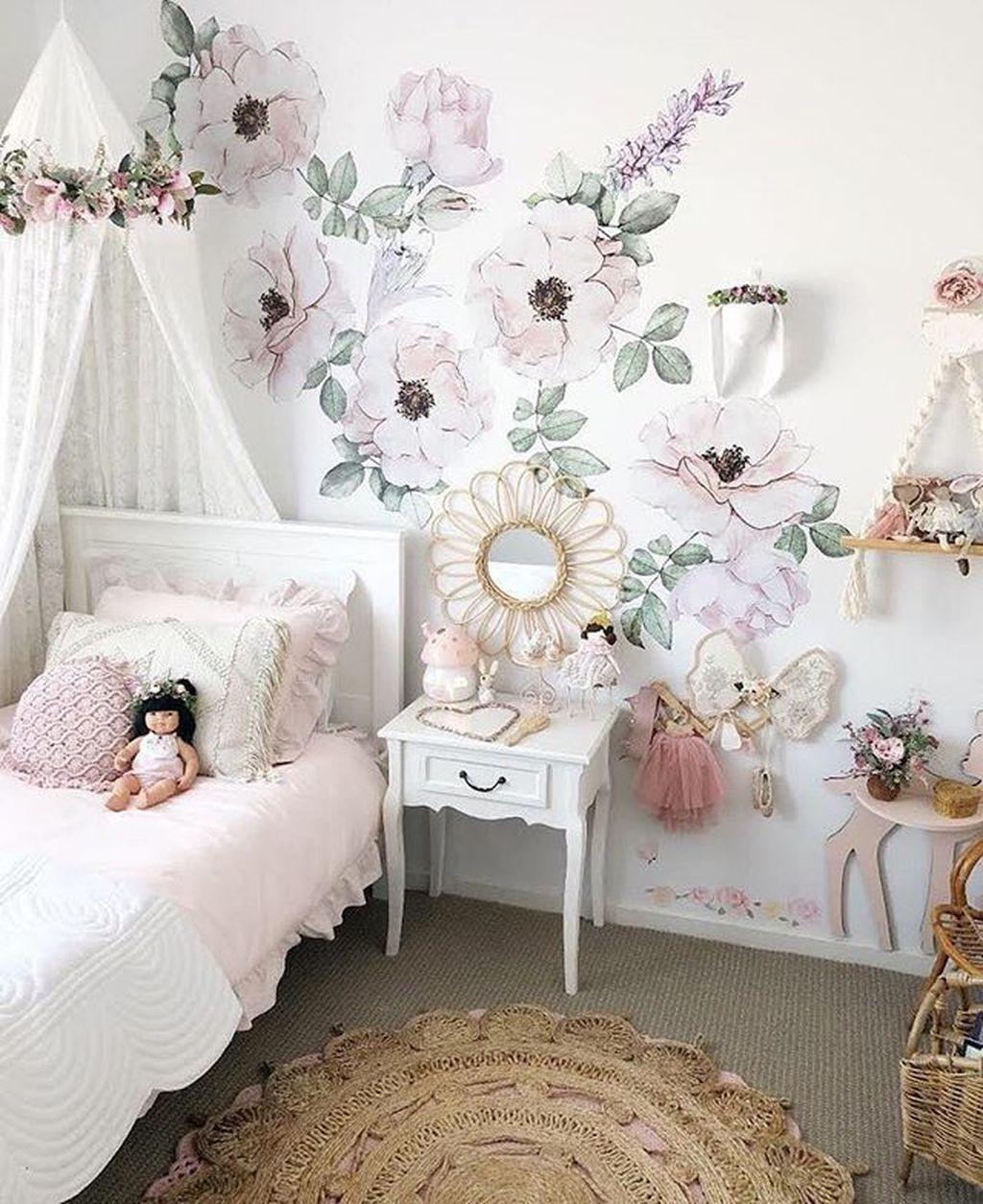 6+ Vintage Bedroom Wall Decals Design Ideas To Try  Bedroom