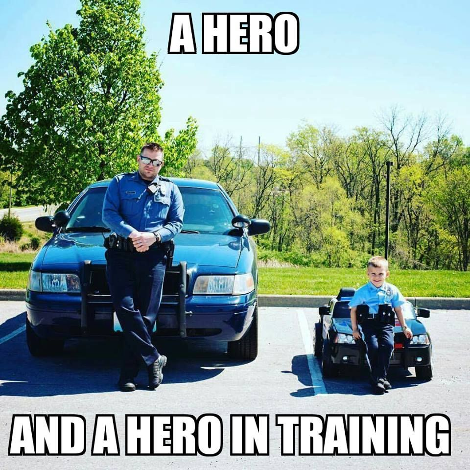 A HERO and A HERO in Training