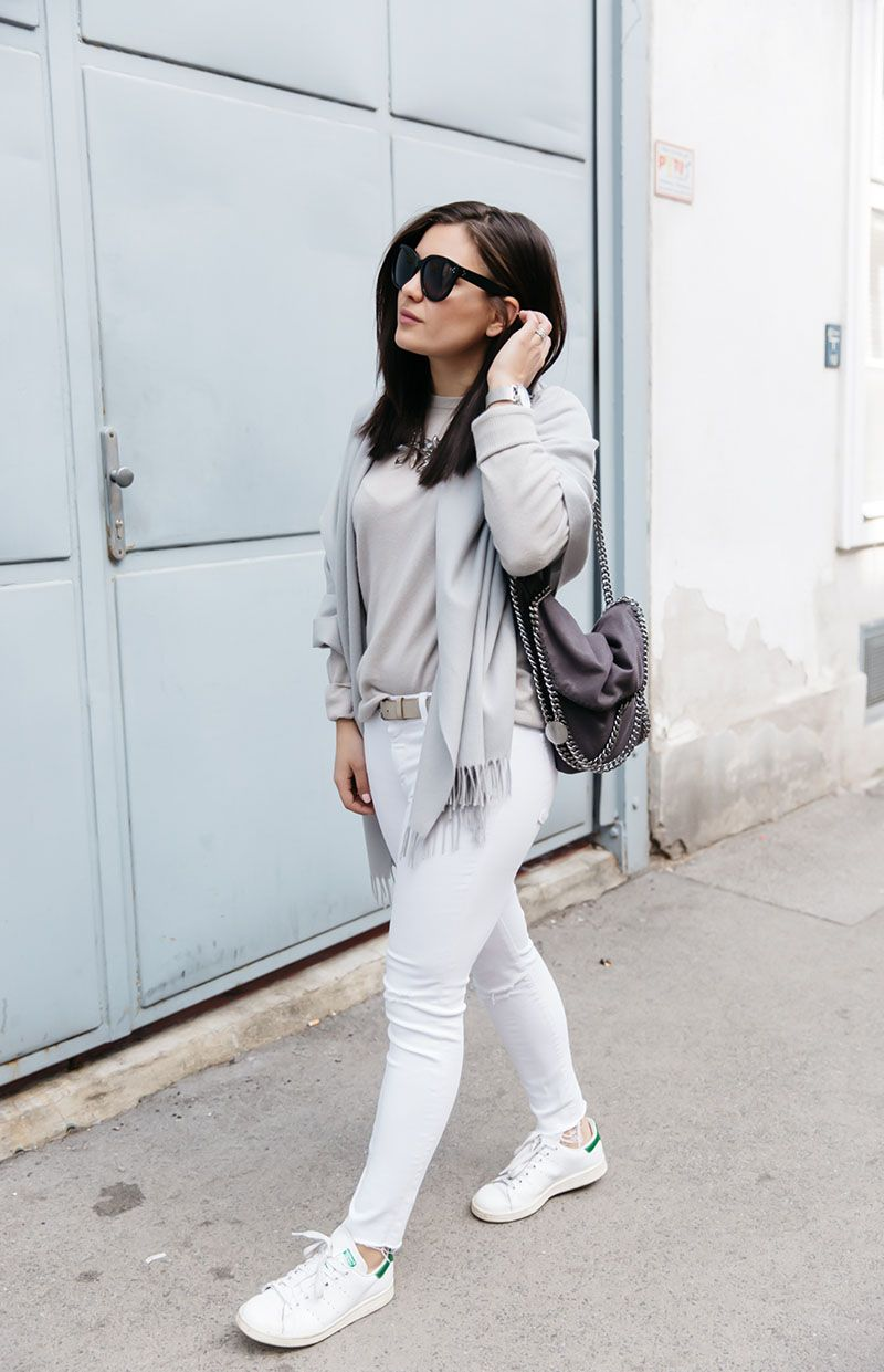OUTFIT: COOL GREYS   Outfits lässig, Outfit, Dariadaria