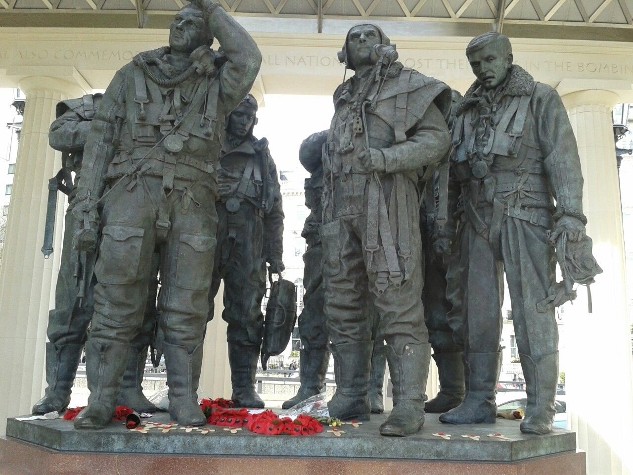 Bomber command memorial London.