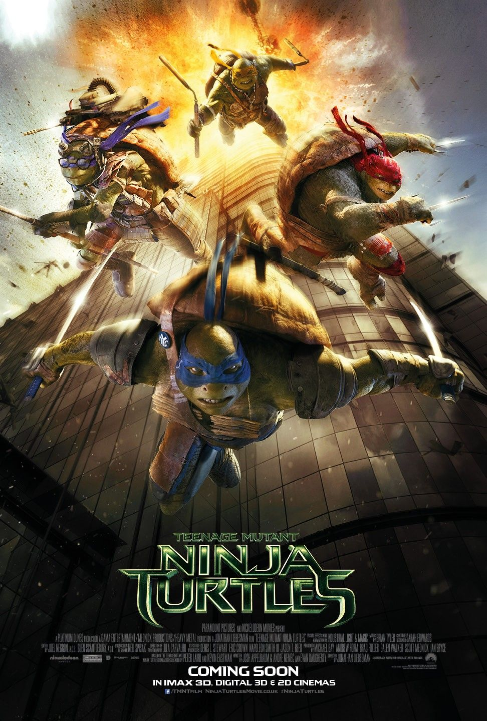 Return To The Main Poster Page For Teenage Mutant Ninja Turtles Teenage Mutant Ninja Turtles Movie Ninja Turtles Movie Ninja Turtles 2014
