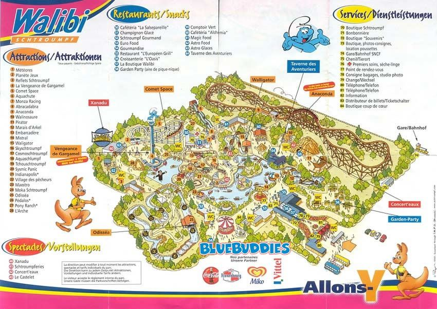 Walibi Schtroumpf Smurfland In Metz France One of the most