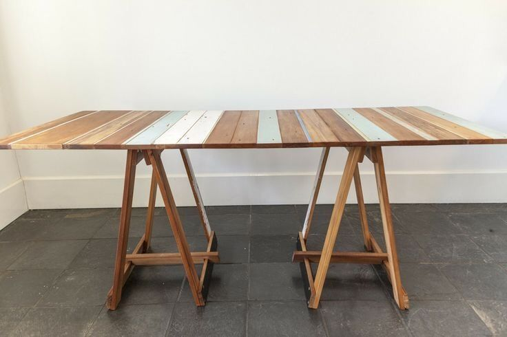 Rustic Recycled Pallet Trestle Tables And Coffee Tables | Other Furniture |  Gumtree Australia The Hills