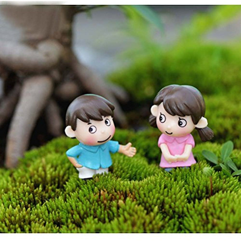 Lu2000 Bonsai Minifigures Small Size Micro Figurines Statue Shy