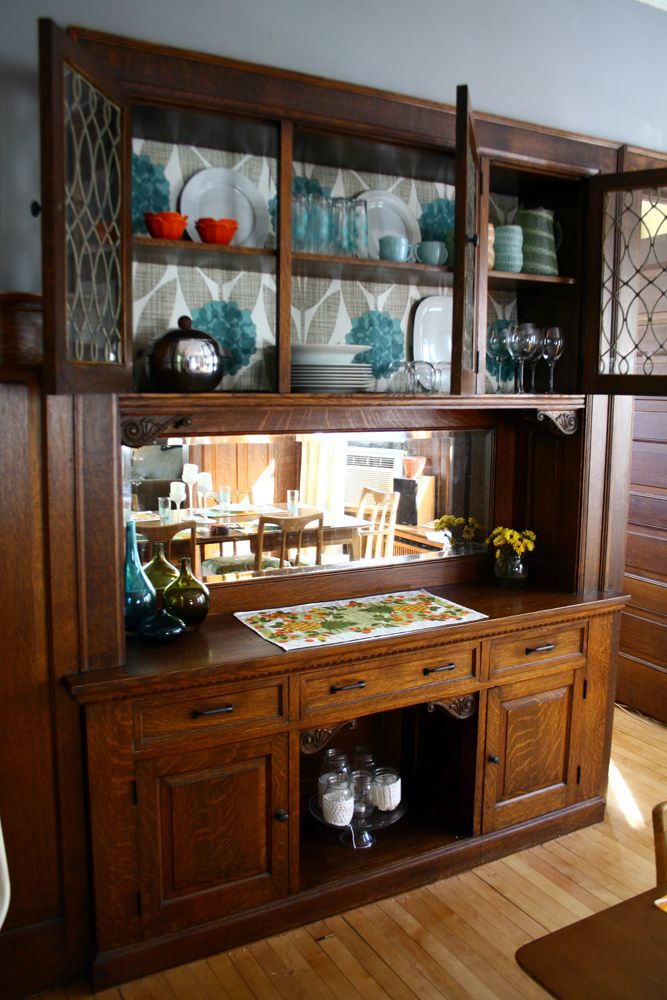 Built In Dining Room Buffet