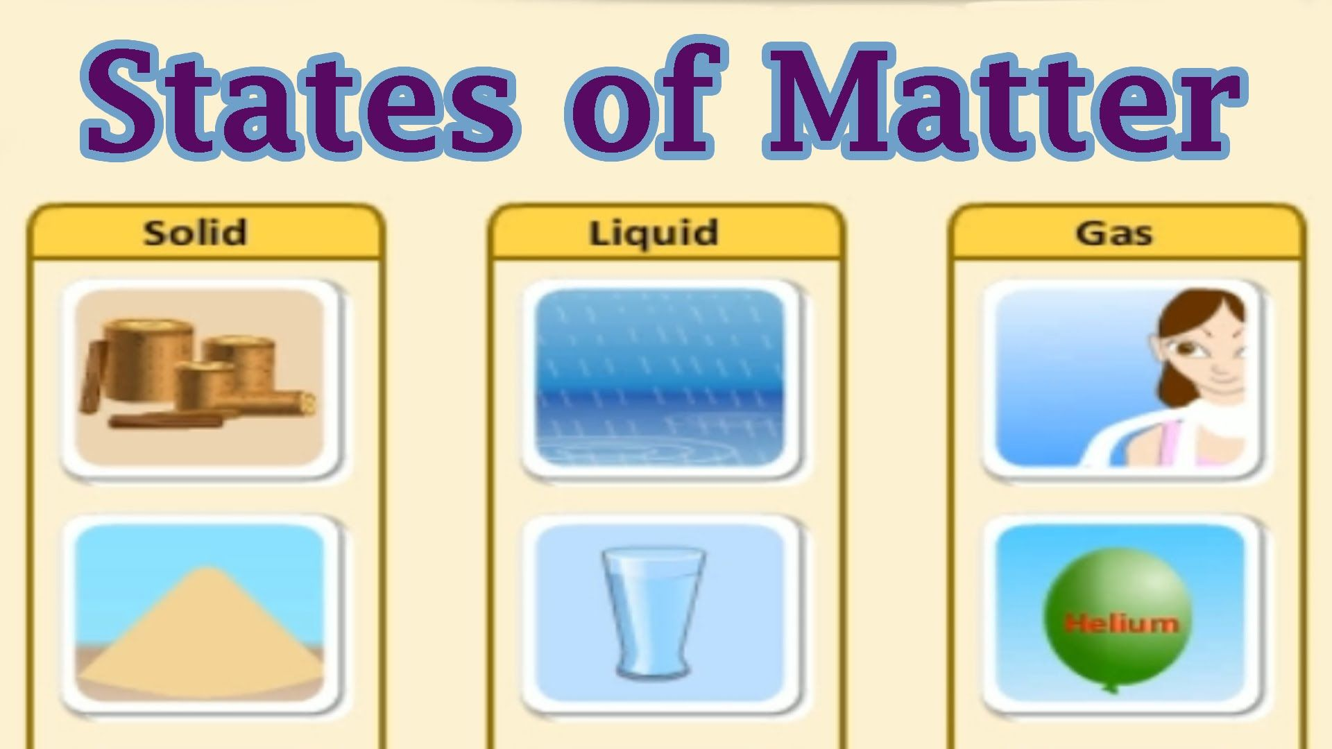 States Of Matter Interactive Game For Kids This Youtube Video From The Site Creators Highlights The S States Of Matter Science Videos For Kids Matter For Kids