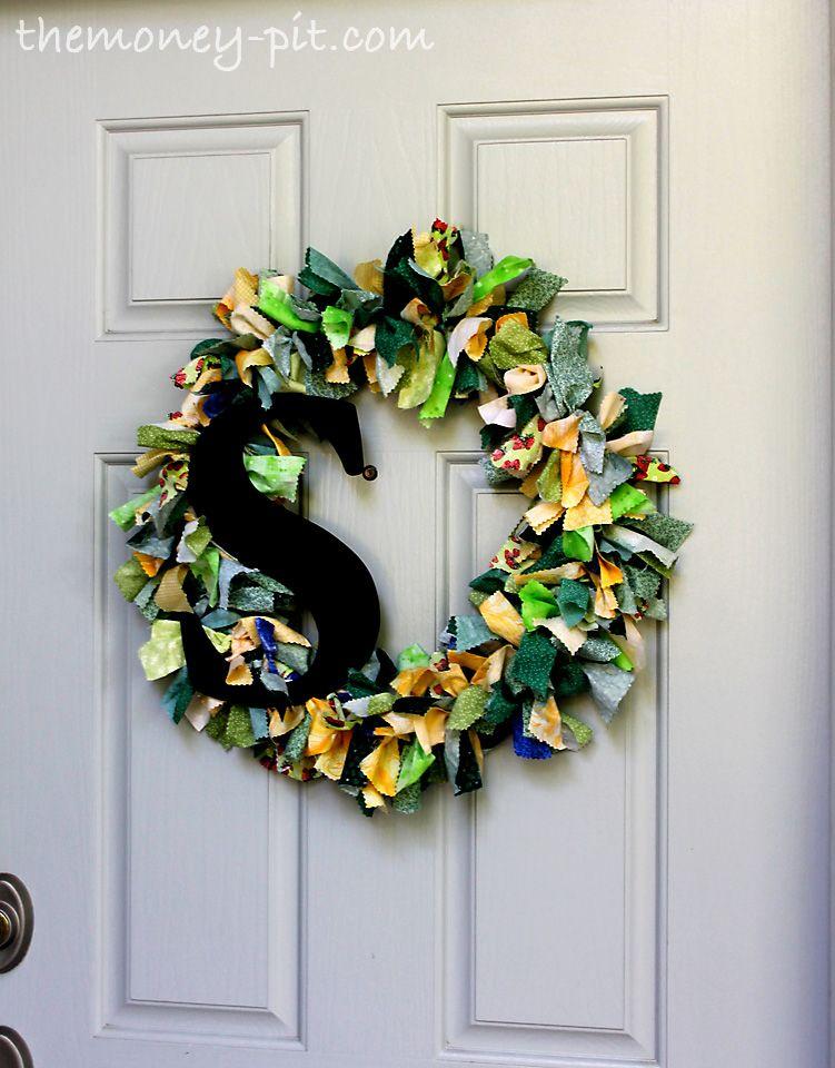Photo of Fabric Scrap Wreath