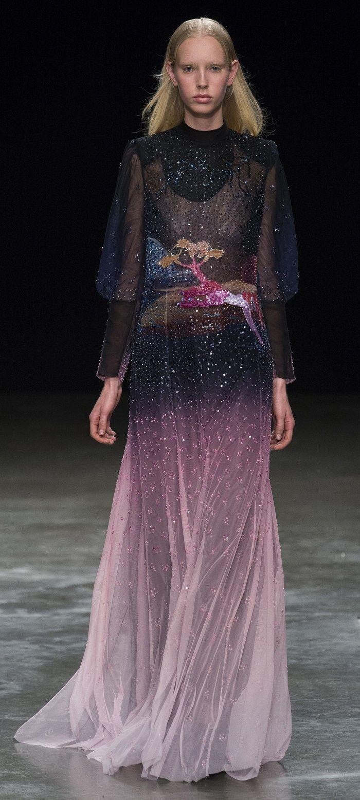 London Fashion Week Outono Inverno 2017 2018 e o Mundo da Fantasia ...