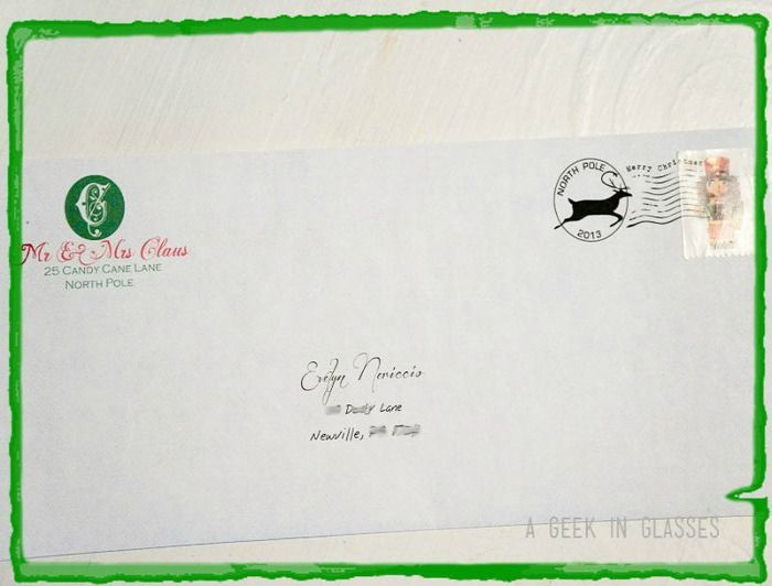 FREE printable Santa Envelope and Letter Merry Christmas - Santa Envelopes