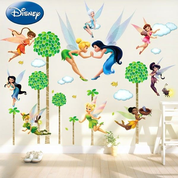 Merveilleux Disney Tinker Bell Celebrate Pixie Party Wall Decal