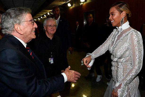 Imagem: Tony Bennett e Beyoncé podem trabalhar juntos