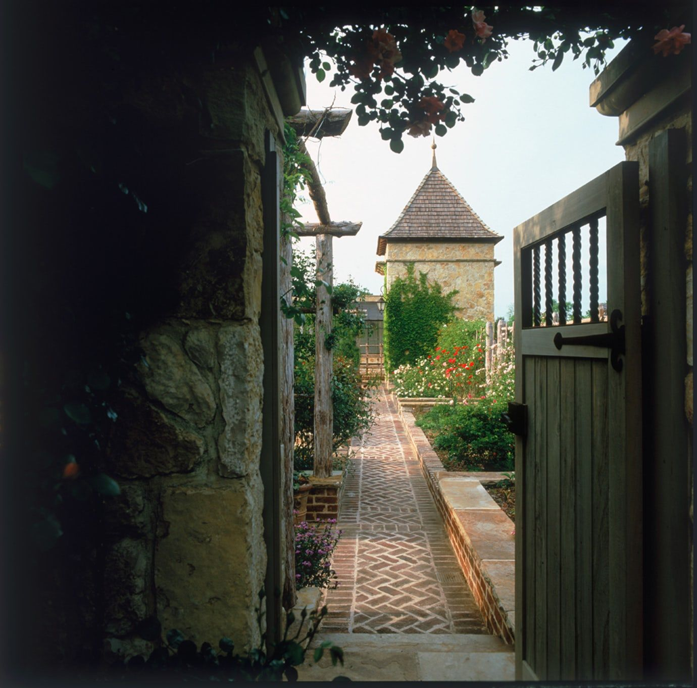 French Country Garden Design Layout: A New Country French Garden Rustic Mediterranean Garden