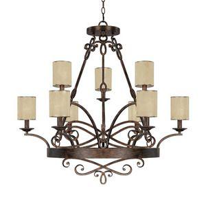 Capital Lighting C4169rt510 Reserve Large Foyer Chandelier Ferguson