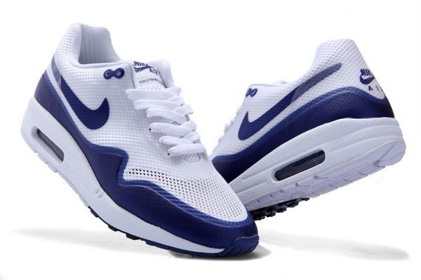 Vente pas cher Nike Air Max 1 Chaussures Hyperfuse Homme Blanche/Noir Soldes Paris