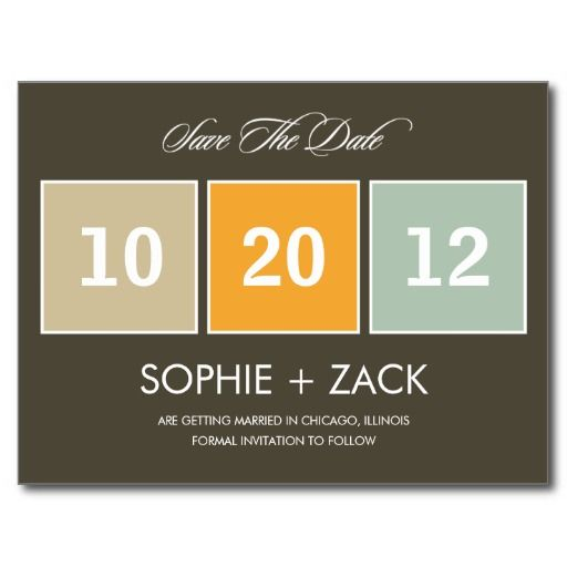 The best place Boxed Calendar Save The Date Postcard (Gray) Boxed