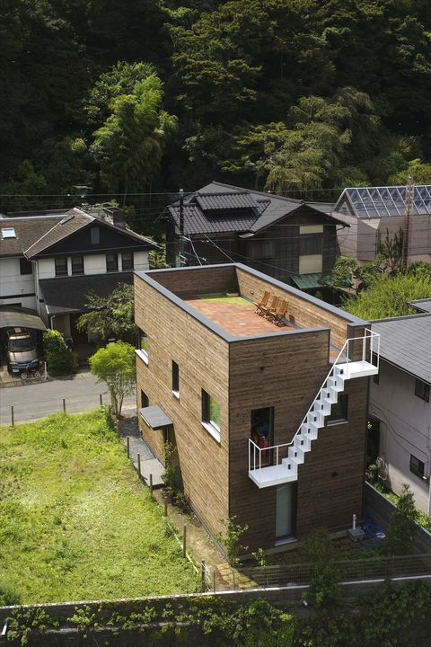 This House For A Family Of Four In Kamakura Near Tokyo Was The