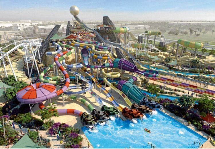 dreamland aqua park umm al quwain uae attraction places