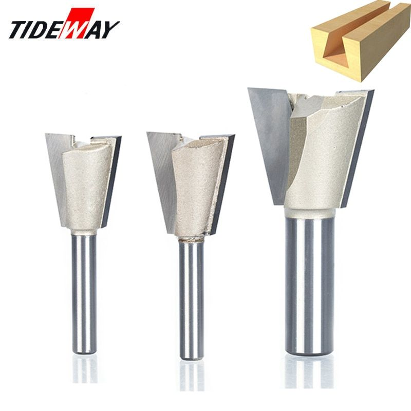 """Metal Steel 1//2/"""" Shank Dovetail Router Bit Cutter End Mill Tools"""