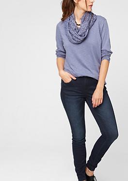 Skinny: Dunkle Stretch-Denim im s.Oliver Online Shop