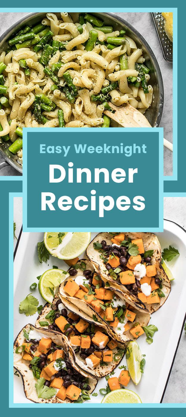 We Recently Asked The Tasty And Buzzfeed Communities To Share Their Go To Dinner I Delicious Healthy Recipes Weeknight Dinner Recipes Easy 5 Ingredient Dinners