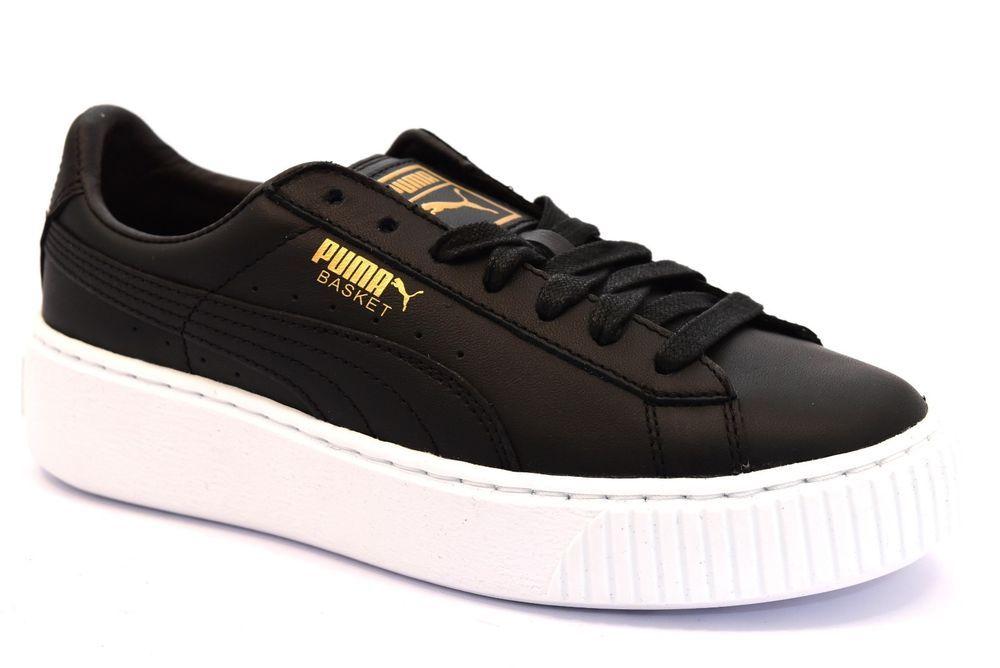 puma basket platform scarpe donna