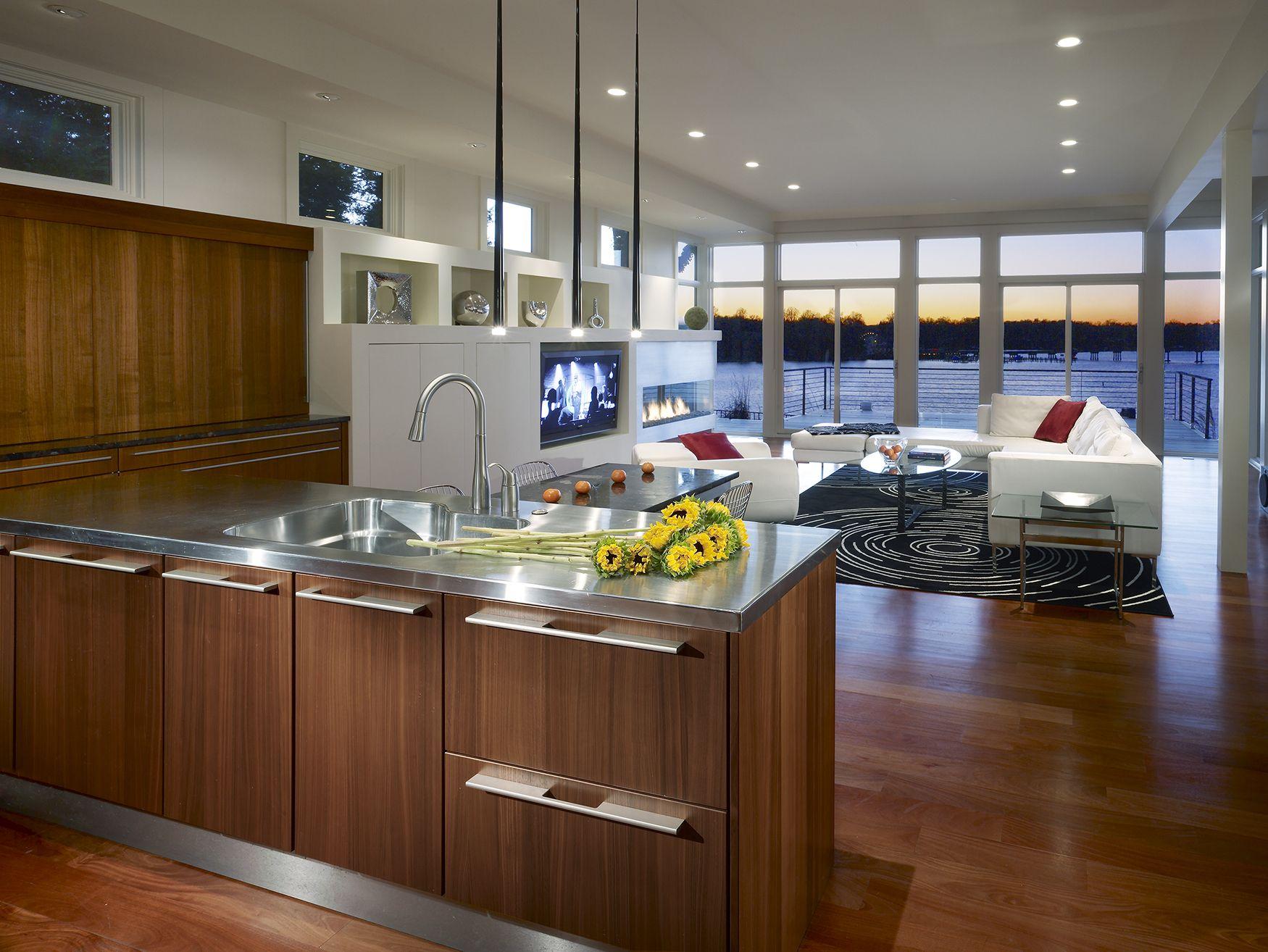 KONST SieMatic Kitchen Interior Design   Modern Cabinetry Island Stainless  Steel