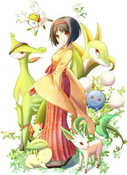 Pokémon(RBGY/FRLG/GSC/HGSS/BW2) Kanto Region Gym Leader Erika