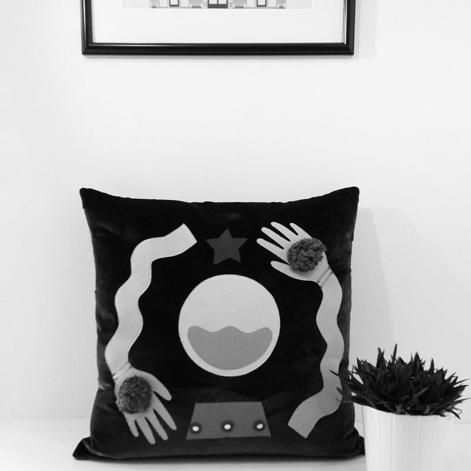 Fortune Teller Cushions - available on my etsy shop. Handmade in Bristol