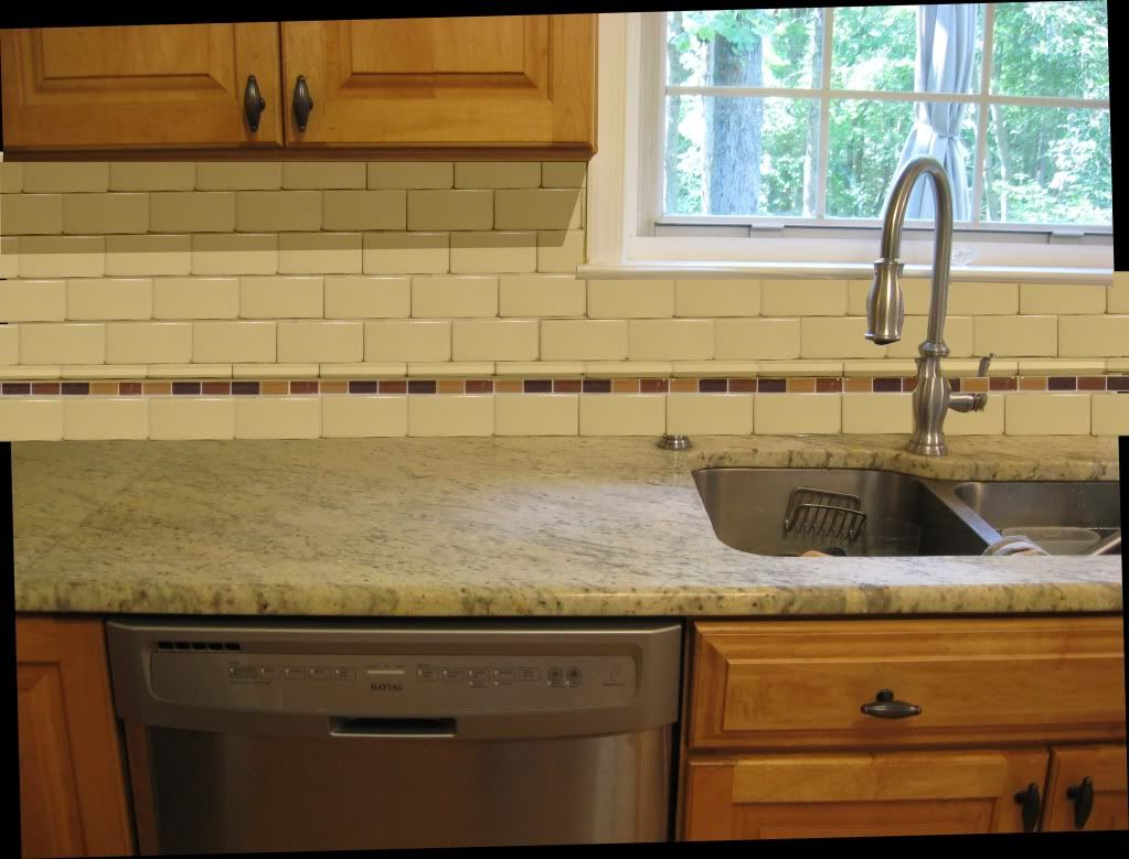 12 subway tile backsplash design ideas installation tips small kitchen interior design with white granite countertops and ceramic backsplash tile ideas also wooden floor and classy washbowl dailygadgetfo Choice Image
