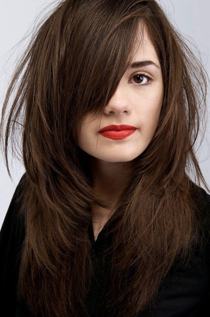 Chocolate Dark Brown Hair Lowlights For Dark Blackish Hair