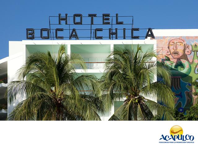 #infoacapulco El Hotel Boca Chica y su vista al mar de Acapulco. INFORMACIÓN SOBRE ACAPULCO. Uno de los hoteles más emblemáticos de todo Acapulco y en especial de la zona conocida como tradicional, es el Hotel Boca Chica, ya que lleva dando los mejores servicios desde hace años y es famoso por la espectacular vista al mar que se ve desde sus habitaciones. Te invitamos a conocer más sobre el hermoso Puerto de Acapulco, durante tu próxima visita. www.fidetur.guerrero.gob.mx