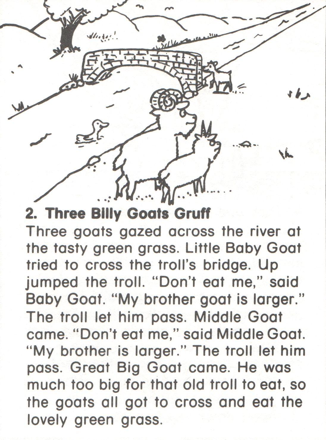 2 3 Billygoats Story