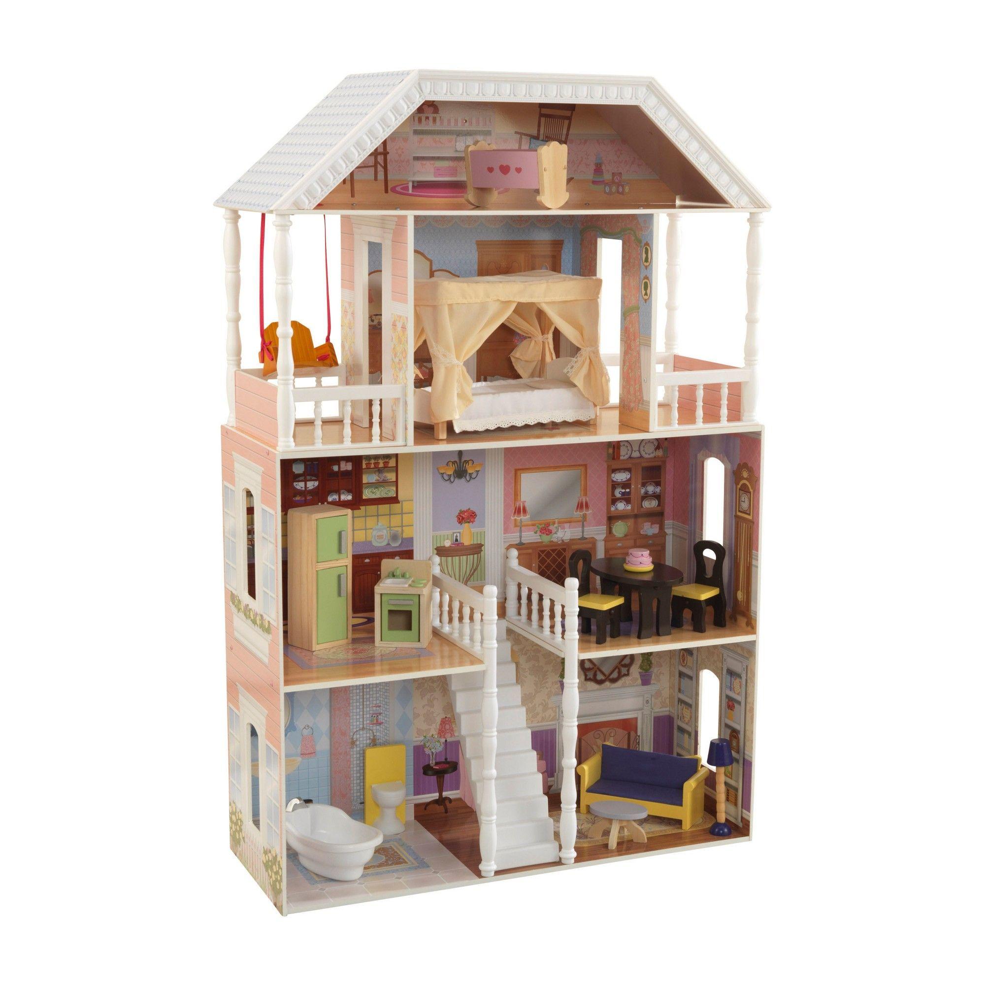 Kidkraft Savannah Dollhouse Play Houses Wooden Dollhouse