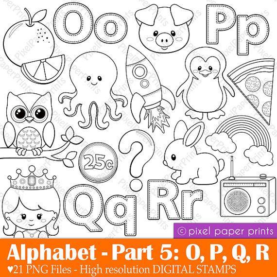 abecedario O, P, Q, R | Quiet Books | Pinterest | Abecedario, Los ...