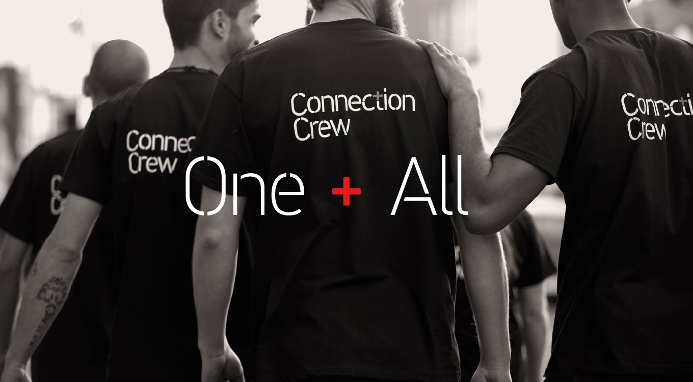 Baxter and bailey has designed the brand identity for connection baxter and bailey has designed the brand identity for connection crew a company that helps malvernweather Image collections
