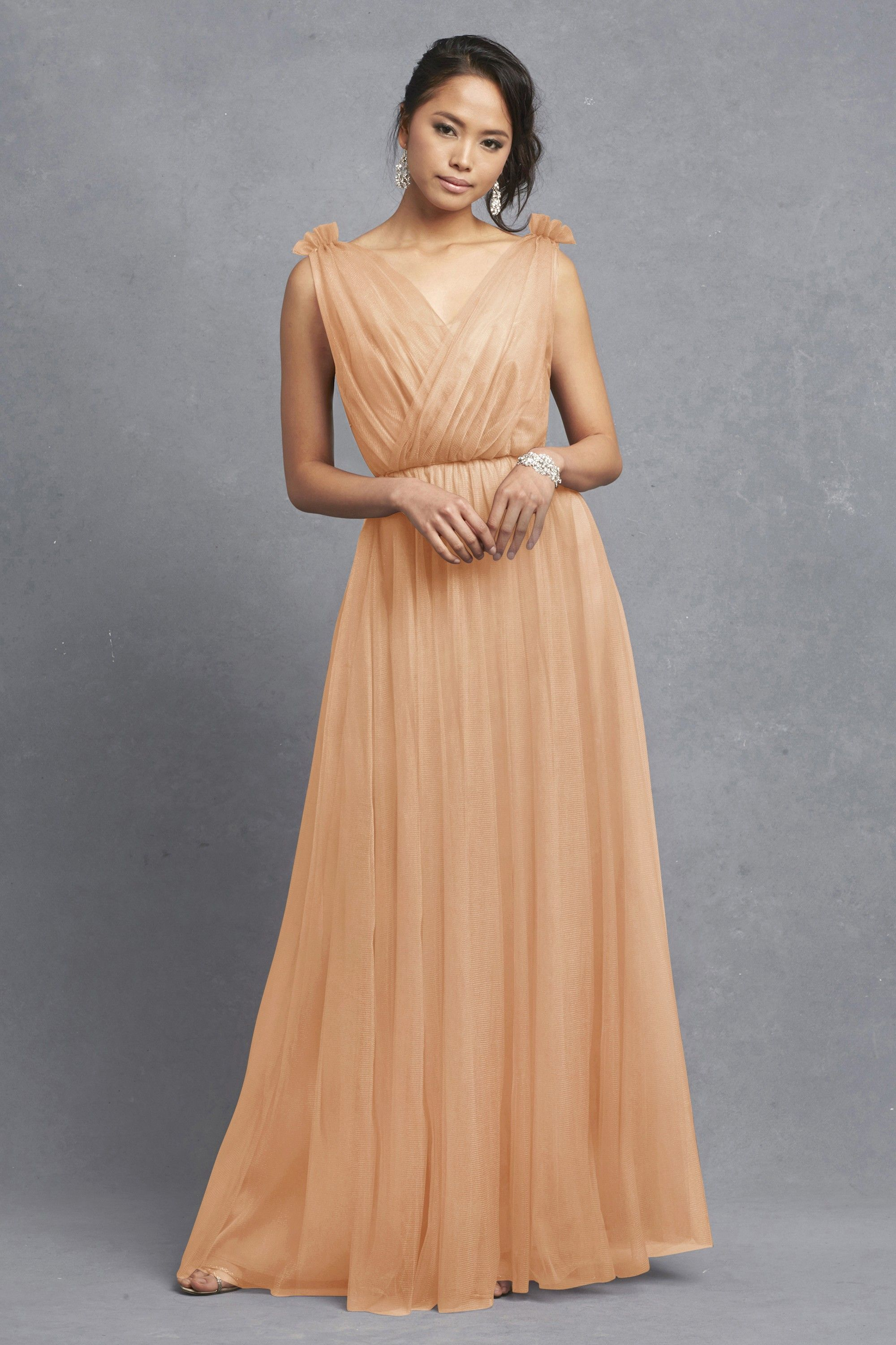 Emmy apricot main otros fdo pinterest donna morgan and search used wedding dresses preowned wedding gowns for sale ombrellifo Images