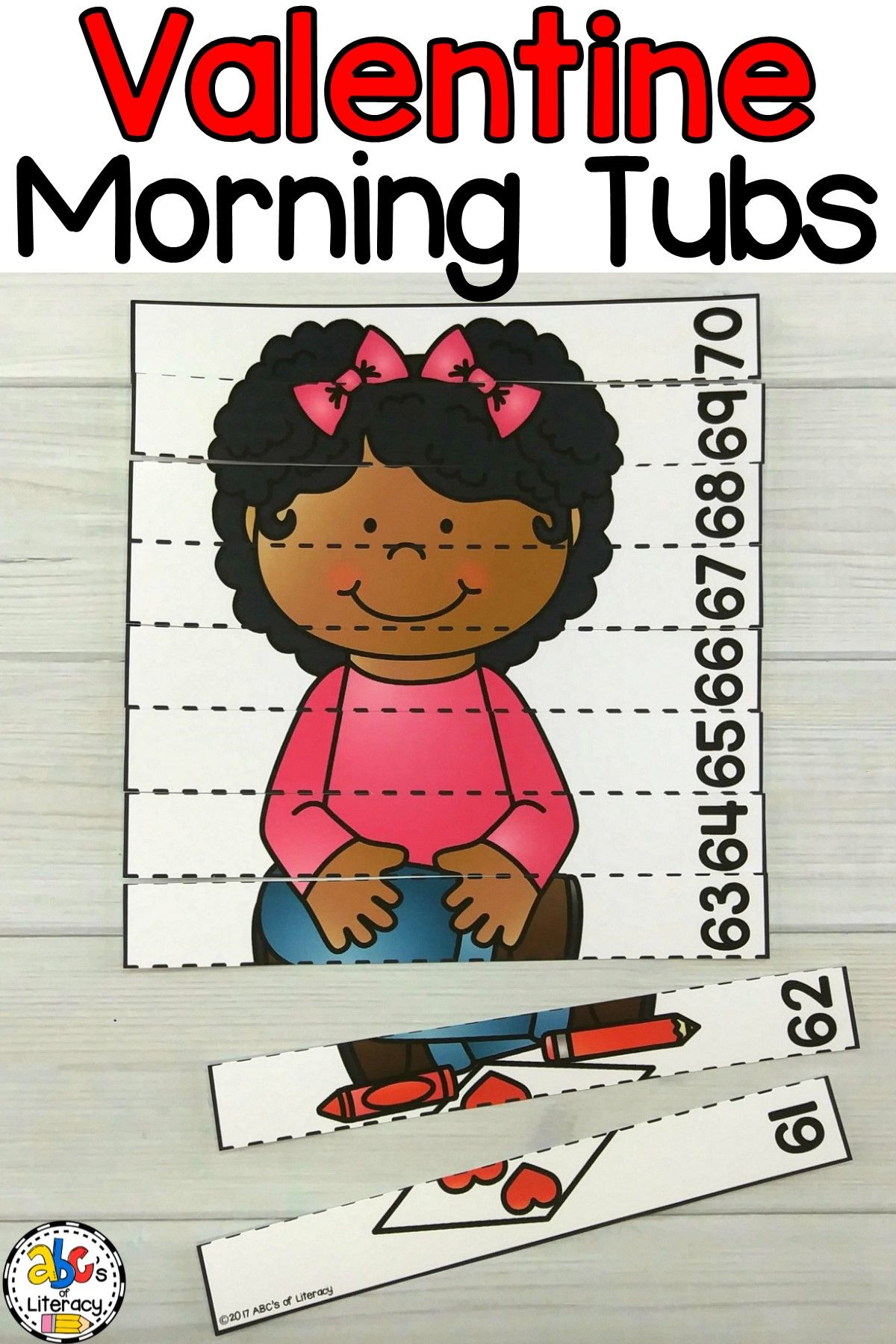 Valentine S Day Morning Tubs For Early Elementary Students