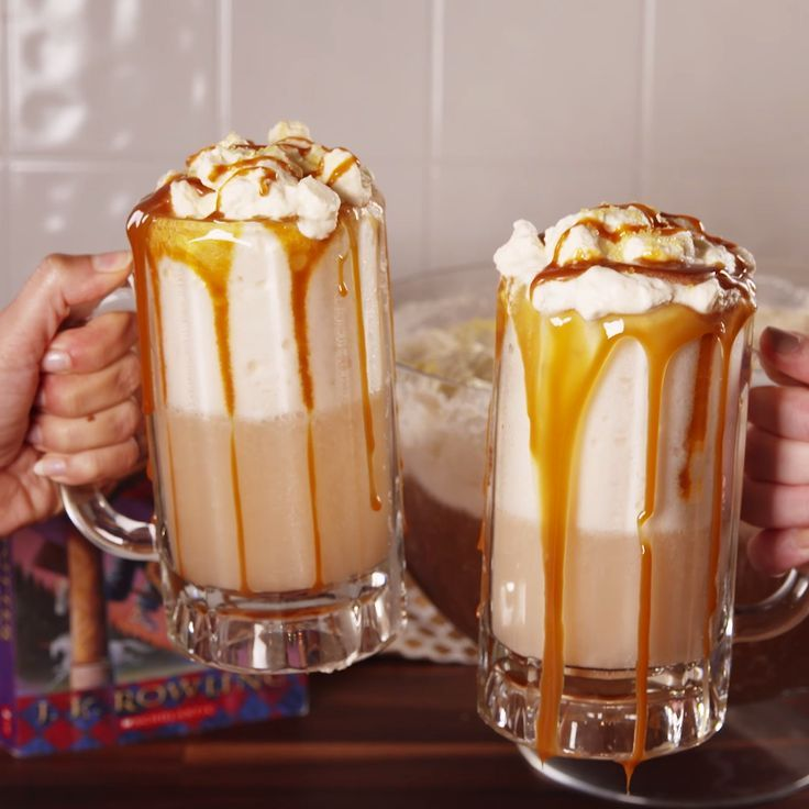 Boozy Butterbeer Punch Every House Can Agree On