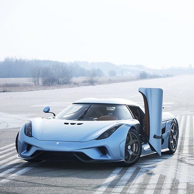From Sweden, The Koenigsegg