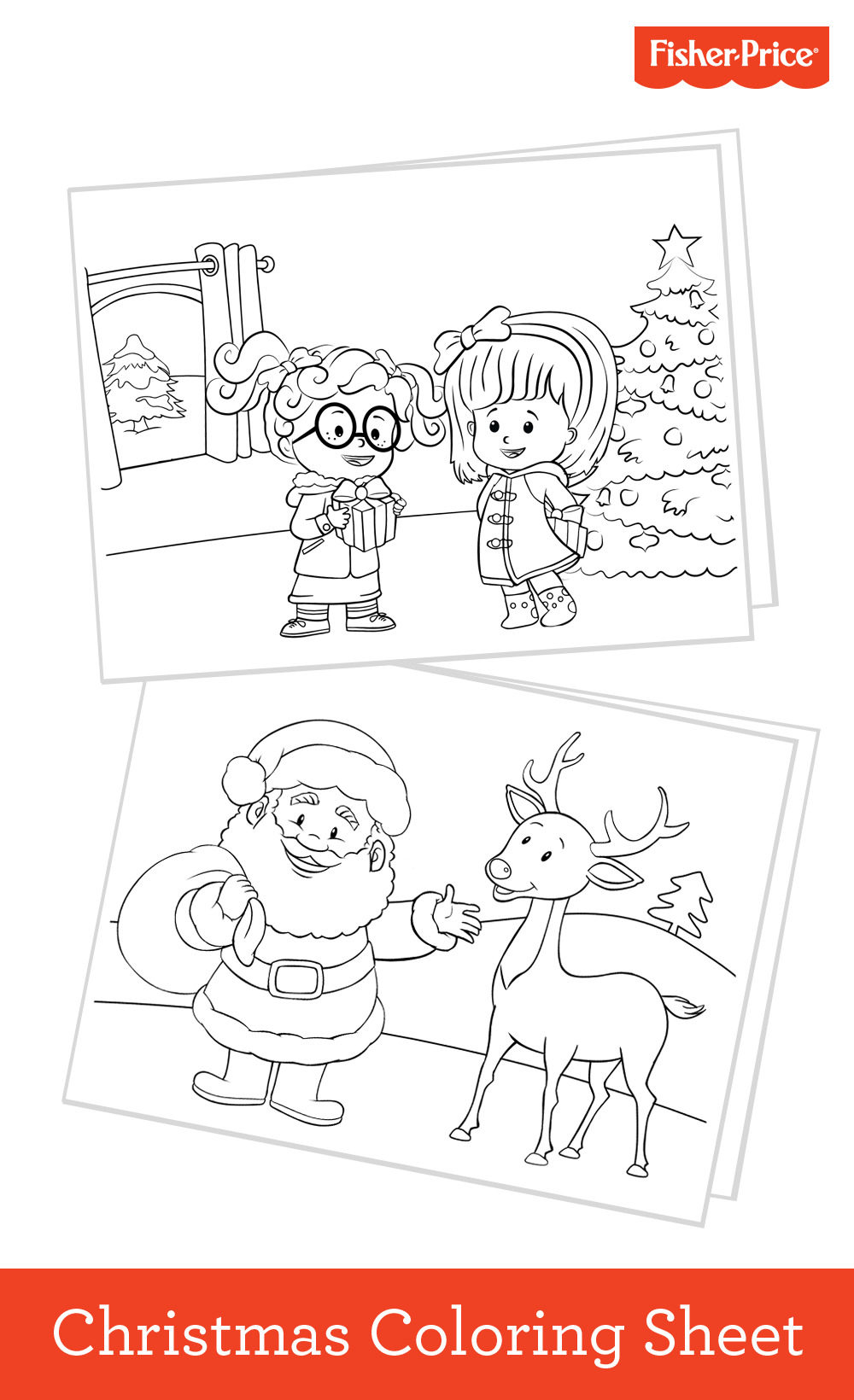 Free Christmas Coloring Sheets Your Kids Will Love The S