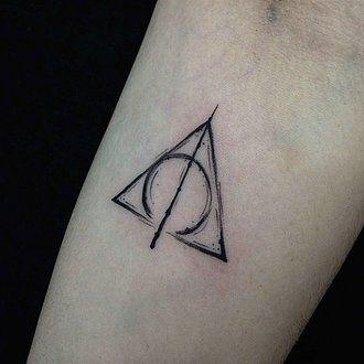 10 Delicados Tatuajes De Harry Potter Que Sólo Los Verdaderos