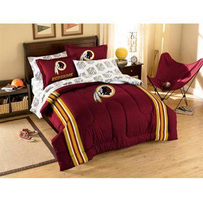 Washington Redskins 7 Piece Full Size Bedding Set