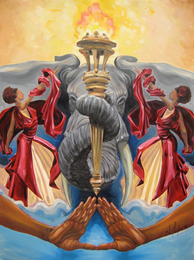 Declaration Of Fortitude I Want This Painting Delta Sigma Theta