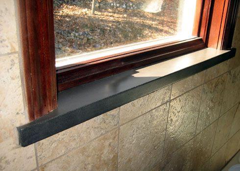 Concrete Window Sills Trueform Concrete Custom Work Interior Window Sill Exterior Window Sill Window Sill